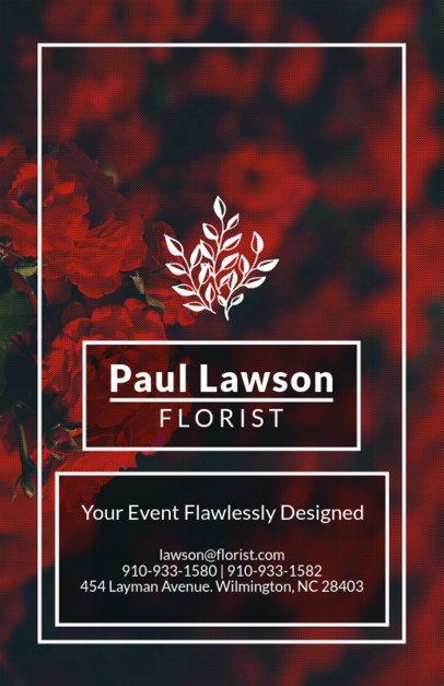 Flyer Maker for Event Florists 440d