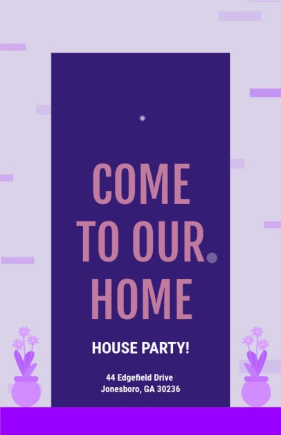 Flyer Maker for House Parties 340a
