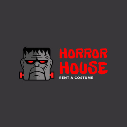 Logo Design Template for Costume Rental Store 1320