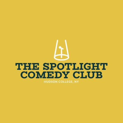 Online Logo Maker for Comedy Clubs 1307b