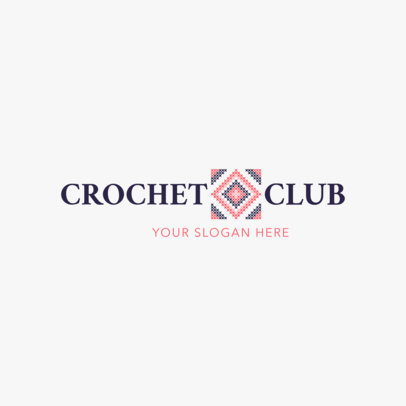 Crochet Club Logo Design Maker 1278