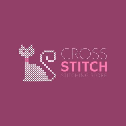 Online Logo Maker for Stitching Stores 1279b