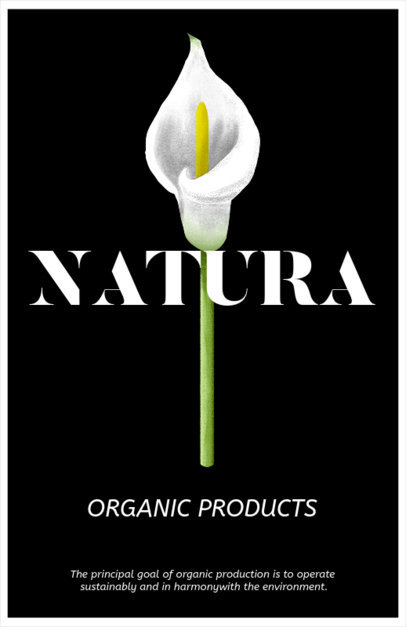 Online Flyer Maker for Organic Products 435a