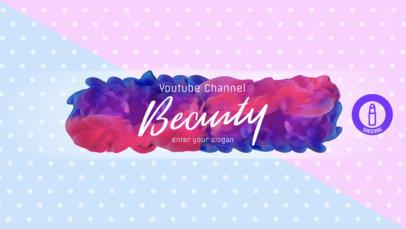 Youtube Beauty Guru Banner Template 451