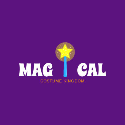 Magical Halloween Logo Maker 1305a