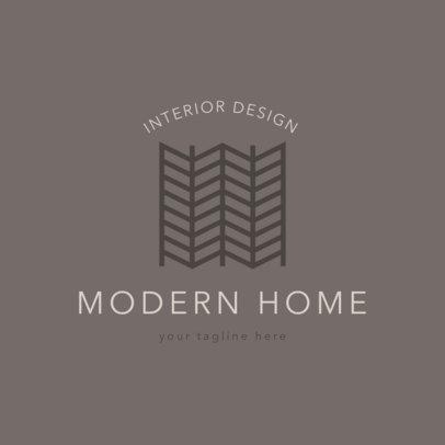 Modern Logo Maker for Interior Designer 1325