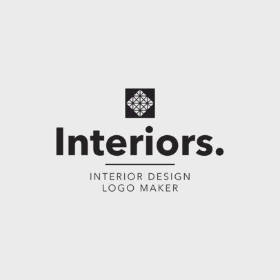 Placeit Home Decor Interior Designer Logo Maker