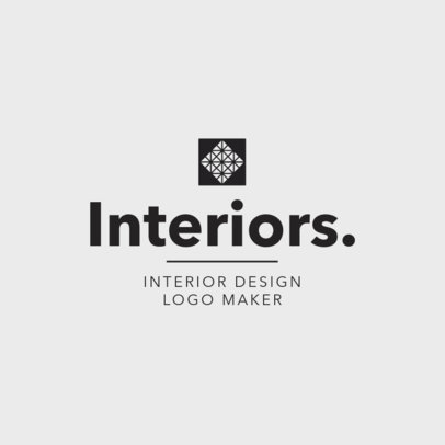 Logo Maker for an Interior Designer 1330