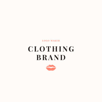 Young Fashion Brand Logo Maker 1315c