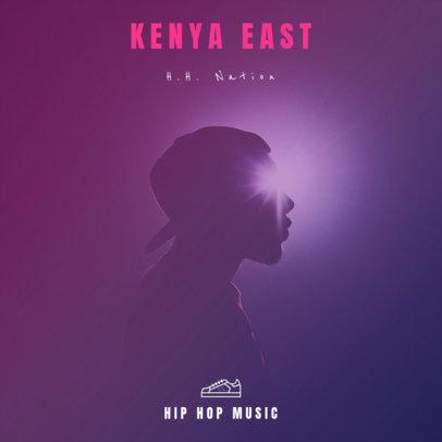 Design Template for Hip-Hop Album 465