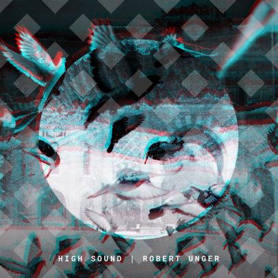 Electro Sound Album Cover Design Maker 469d