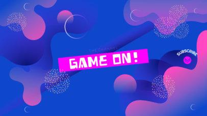 Youtube Gamer Channel Banner Maker 460c