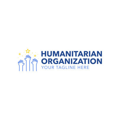 Logo Template for Humanitarian Organization 1336