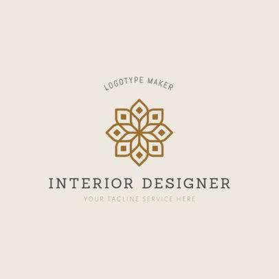 Easy Interior Design Logo Template 1325b