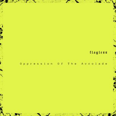 Punk Rock Album Cover Design Maker 466e