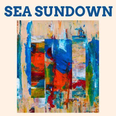 Artistic Album Cover Design Maker for Alternative CD 467 d
