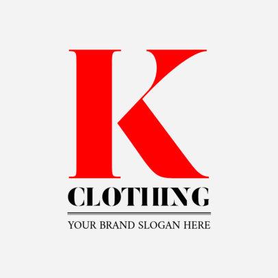 Fresh Logo Design Template for Clothing Brand 1318b