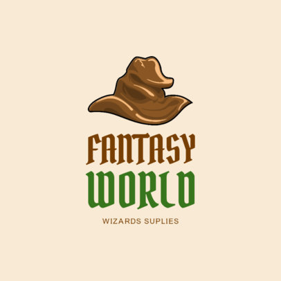 Wizard Costume Rental Logo Design Maker 1320d