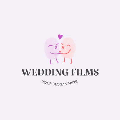 Wedding Videographer Logo Design Maker  1274d