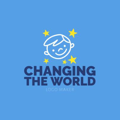 Logo Template for Youthful Humanitarian Organization 1336a