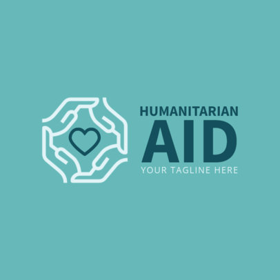 Logo Maker for Humanitarian Aid Organization 1336d