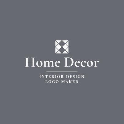 Placeit Home Decor Interior Designer Logo Maker