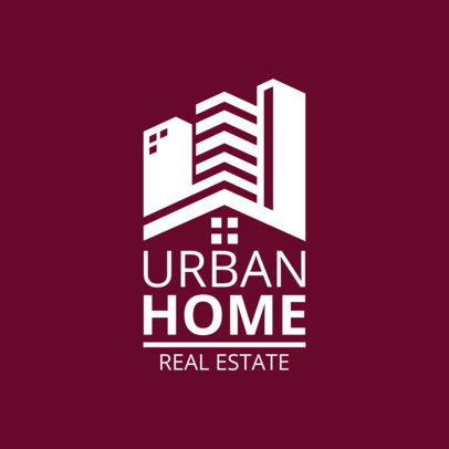 Real Estate Logo Template 1337
