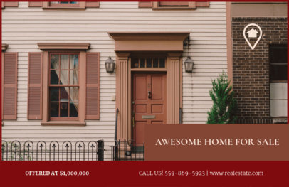 Customizable Real Estate Flyer Templates 257c