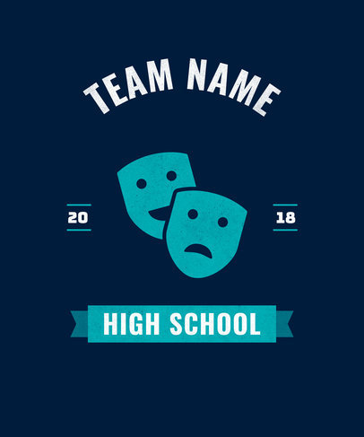 T-Shirt Design Maker for High School Clubs 484
