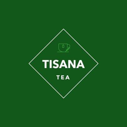 Logo Design Template for Tea Shop 1344