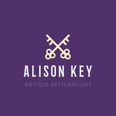 Logo Design Template for Antique Restoration Store 1326c