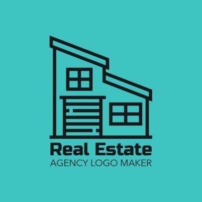 Real Estate Company Logo Template 1349