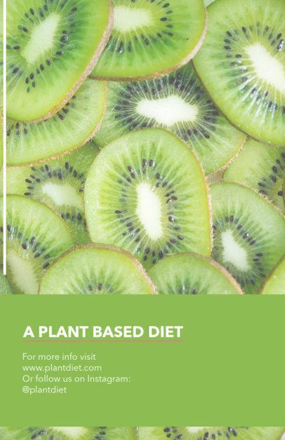 Plant Based Nutrition Flyer Maker 446e