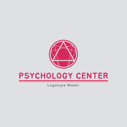 Logo Maker for Psychology Center 1352