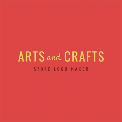 Crafts Logo Creator 1356