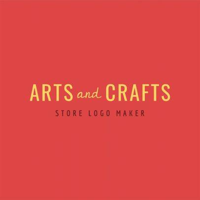 Crafts Logo Creator 1356