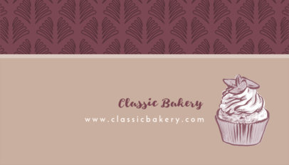 Placeit - Bakery Business Card Maker
