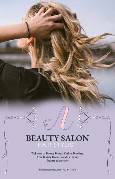 Beauty Business Flyer Template 486