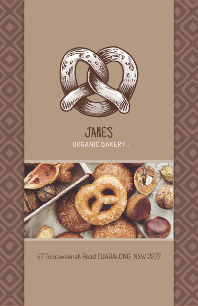 Creative Flyer Design Template for Bakery Shop 494e
