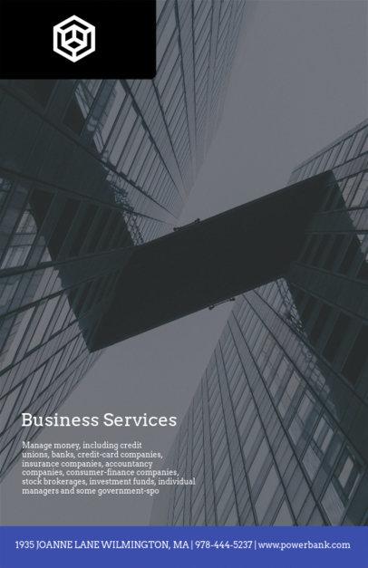 Financial Business Flyer Template 512e