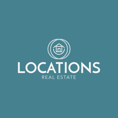 Real Estate Agency Logo Maker 1350a