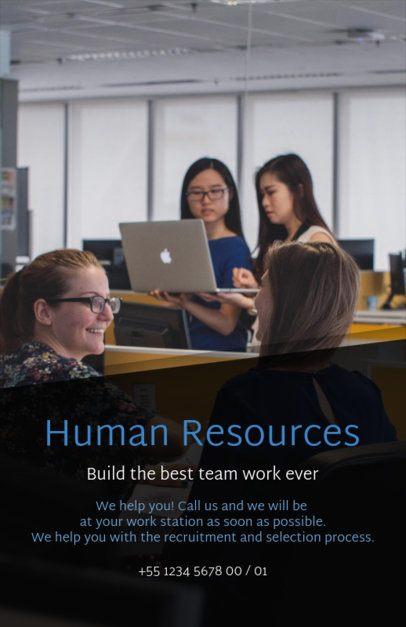HR Job Posting Flyer Design Template 516d