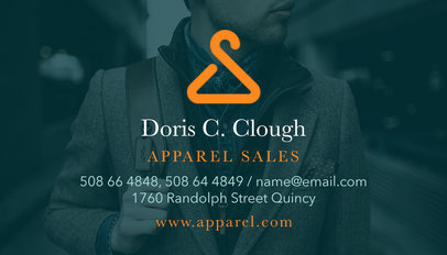 Business Card Template for Apparel Brands 503