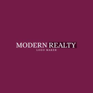 Realty Business Logo Design Template 1348e