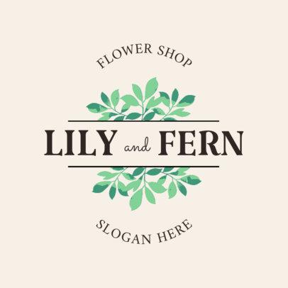 Online Logo Maker for Florists 1335