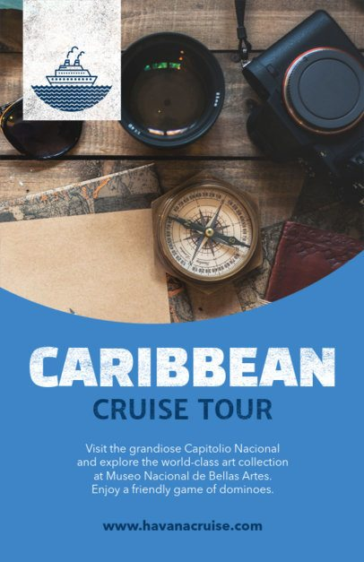 Flyer Maker for Cruise Tours 488a