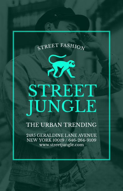 Online Flyer Maker for Clothing Shop 504
