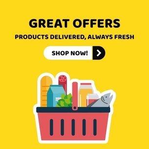 Online Banner Maker for Supermarkets 524