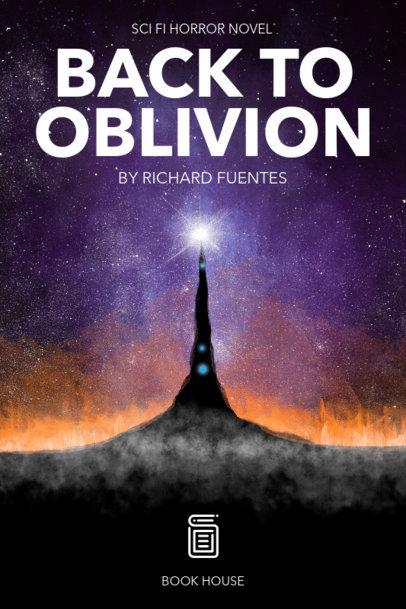 Sci-Fi Horror Book Cover Maker 521