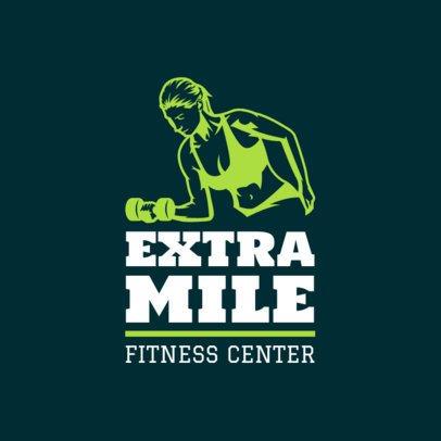 Fitness Logo Maker 1347
